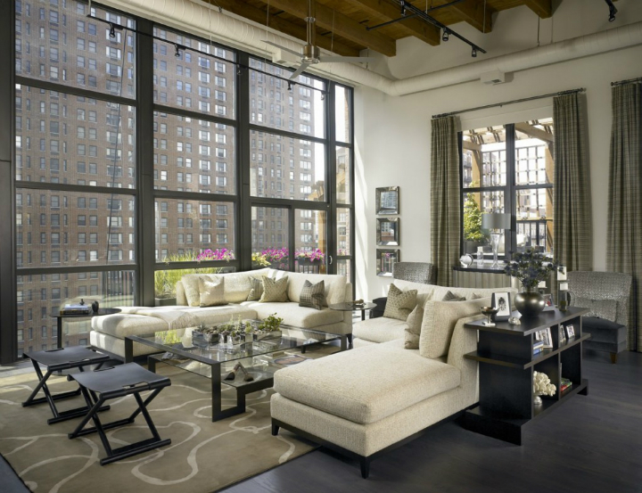 A Dynamic New York Skyline Apartment Decoholic