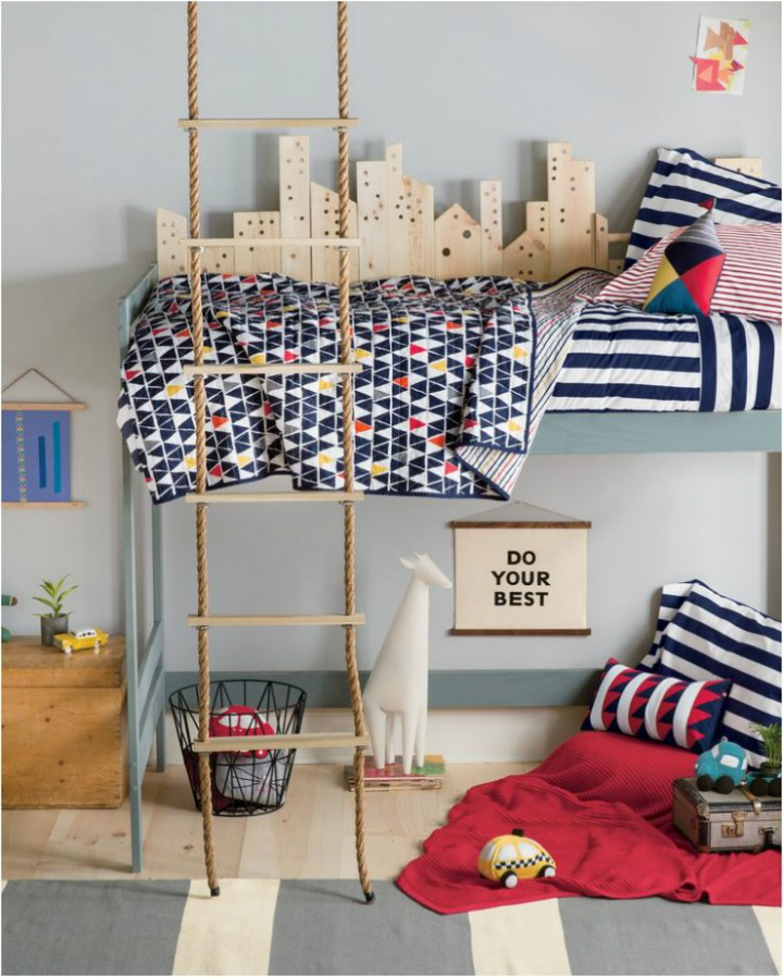 Gray Boys' Room Ideas 11