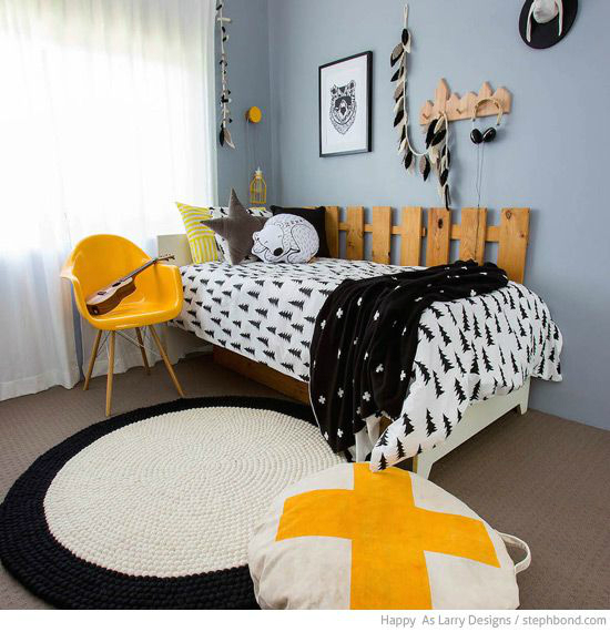 Gray Boys' Room Ideas 13
