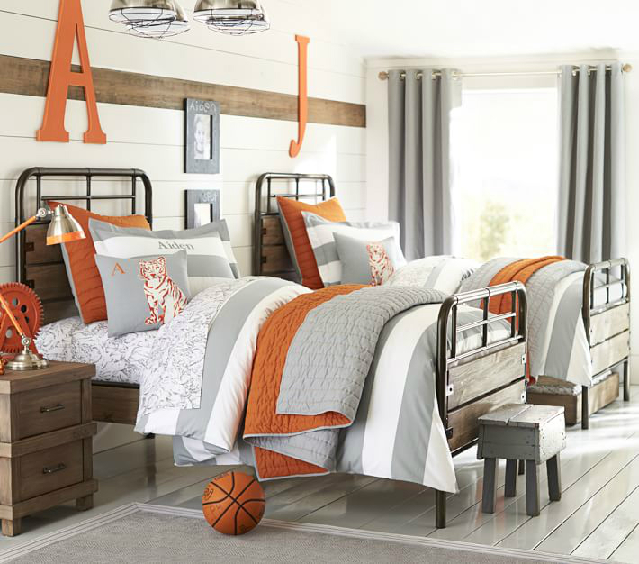 Orange Bedroom Accessories Wwe Bedroom Accessories Curtains For Bedroom 2015 Color Ideas For Bedroom: 87 Gray Boys' Room Ideas