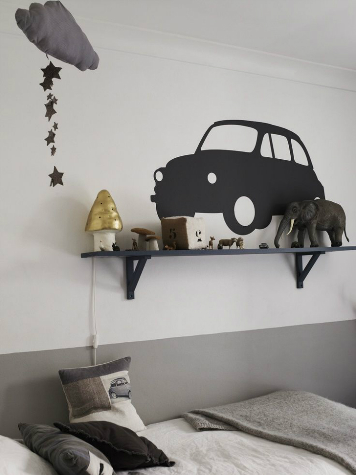 Gray Boys' Room Ideas 36
