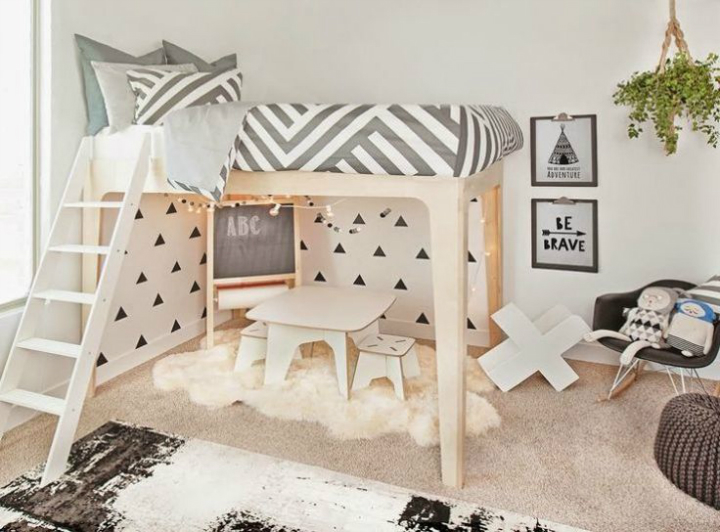 Gray Boys' Room Ideas 37