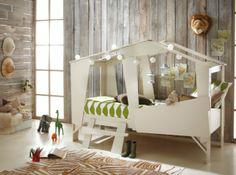 Gray Wooden Boys' Room Idea