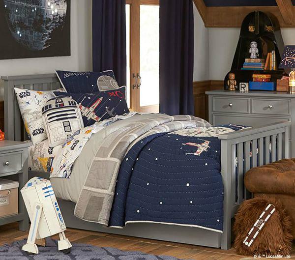 Star Wars Gray Boys' Room Ideas