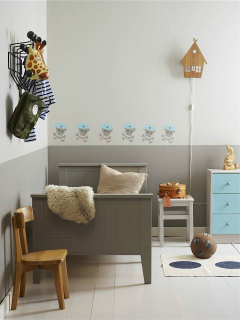 Gray Boys' Room Ideas 40