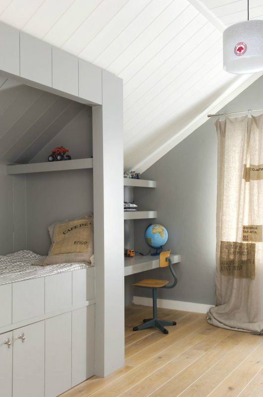 Gray Boys' Room Ideas 52