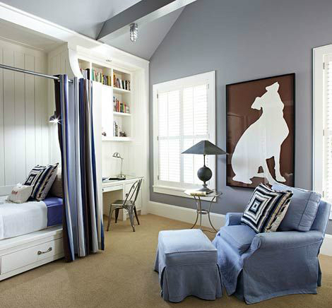 Gray Boys' Room Ideas 53