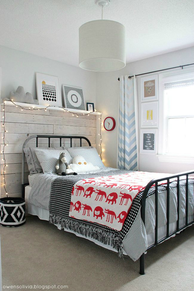 Gray Boys' Room Ideas 54
