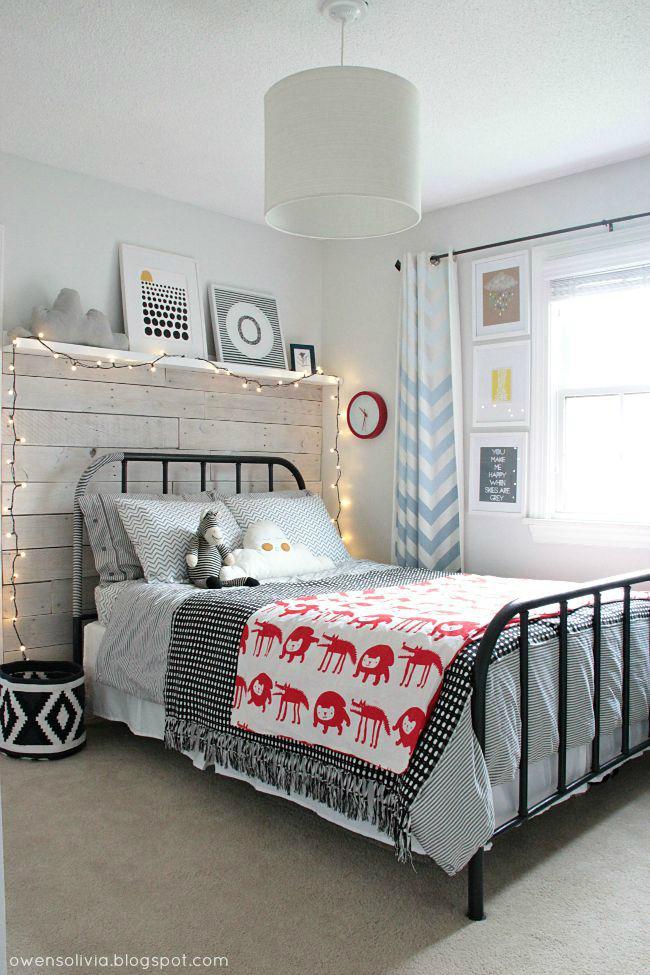 Amazing Gray Innovative Boys' Room Idea
