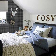 Scottish Gray Boys Room Idea