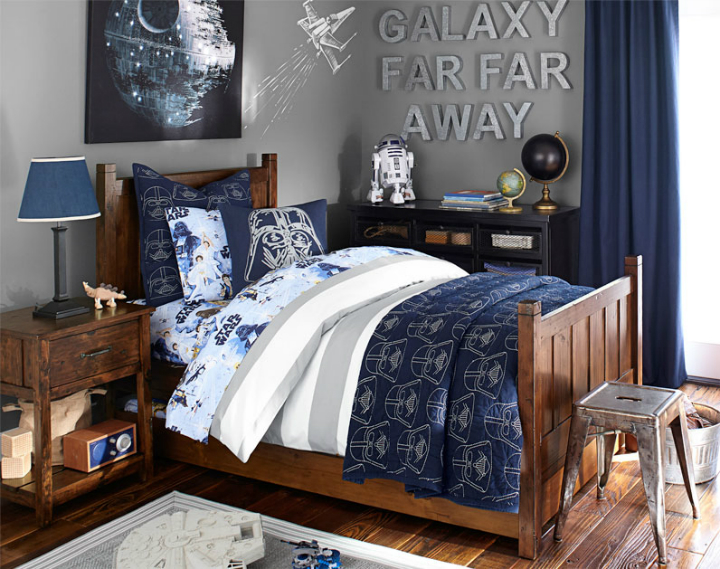 gray boys room ideas 6 - Boys Room Ideas