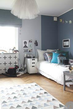 Gray Boy's Room Amazing Idea