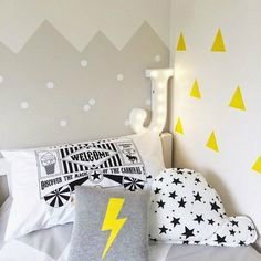 Gray Boys' Room Ideas 57