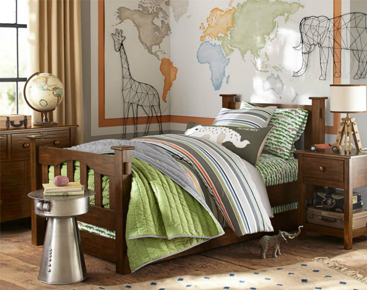 Gray Boys' Room Ideas 7