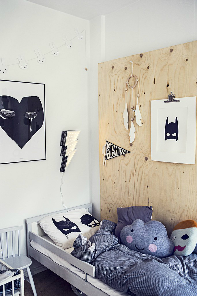 Gray Boys' Room Ideas 66