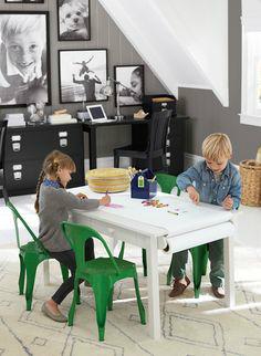 Gray Boys' Room Idea with Beautiful Photos