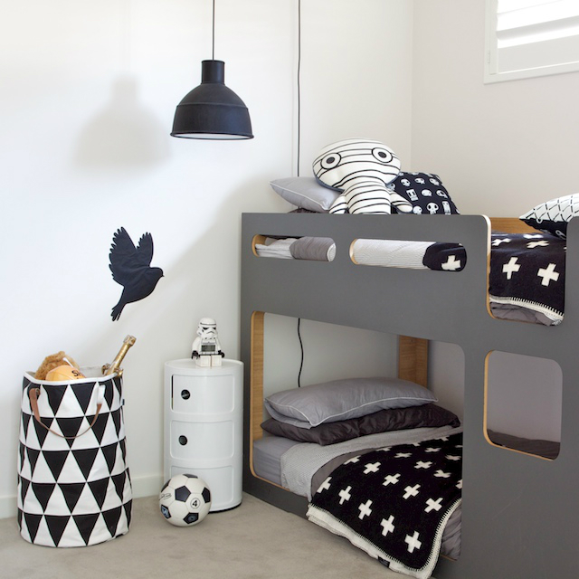 Gray Boys' Room Ideas