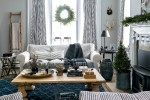 rustic nordic holiday style home interior