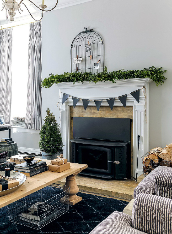rustic nordic holiday style home interior 2