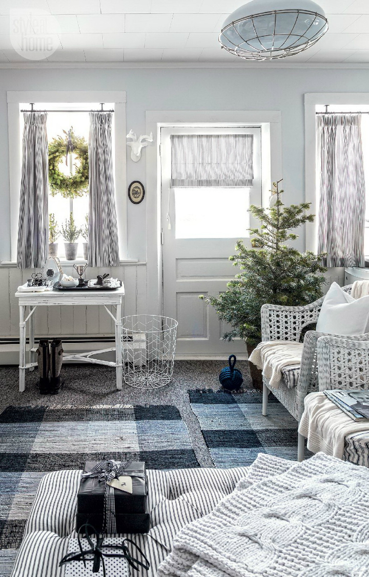 rustic nordic holiday style home interior 5