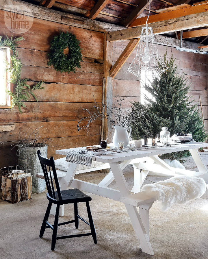 rustic nordic holiday style home interior 6