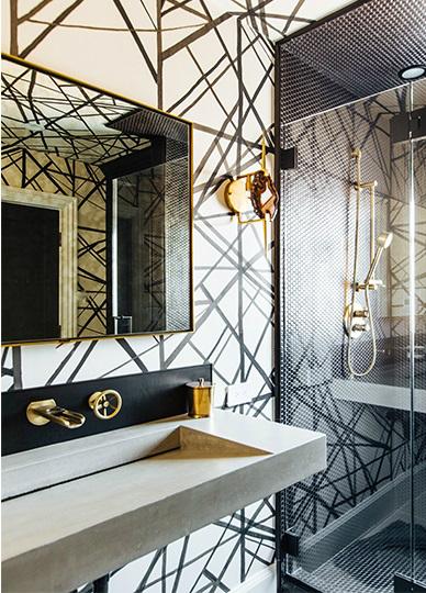 contemporary elegant bold house interiors 15