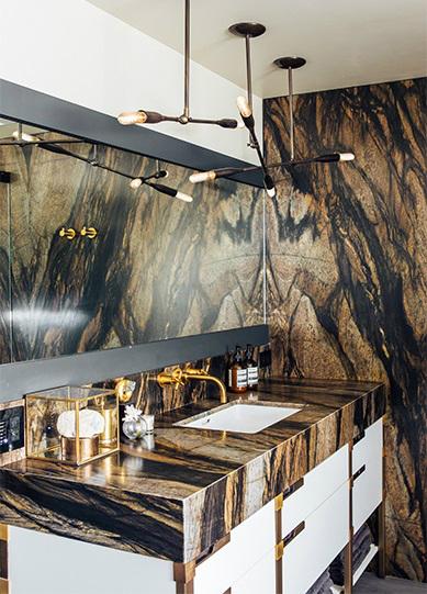 contemporary elegant bold house interiors 25