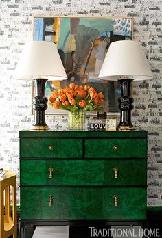 Decorating with Emerald and Blue Topaz 16
