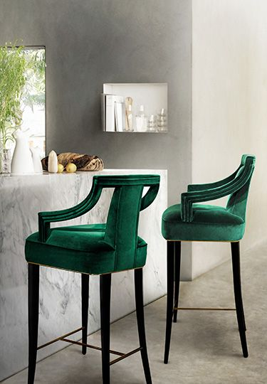Decorating with Emerald and Blue Topaz 21