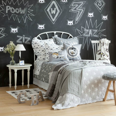 Gray Boys' Room Ideas 86