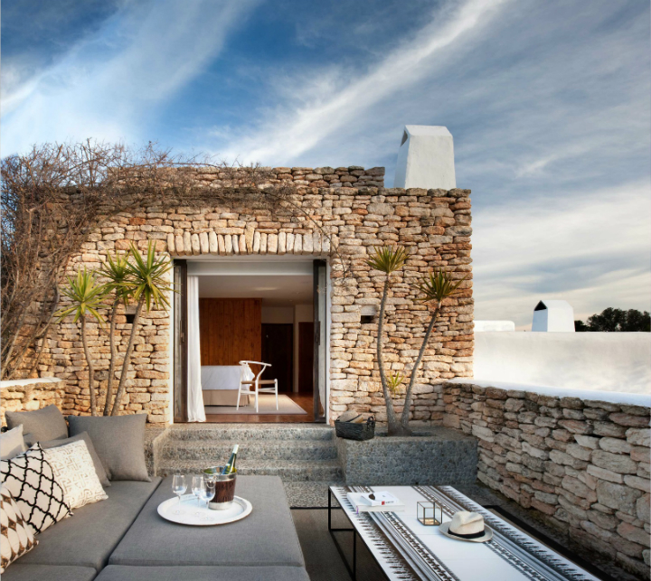 Elegant And Stylish Home In The Baleares: Open Spaces Unique Places