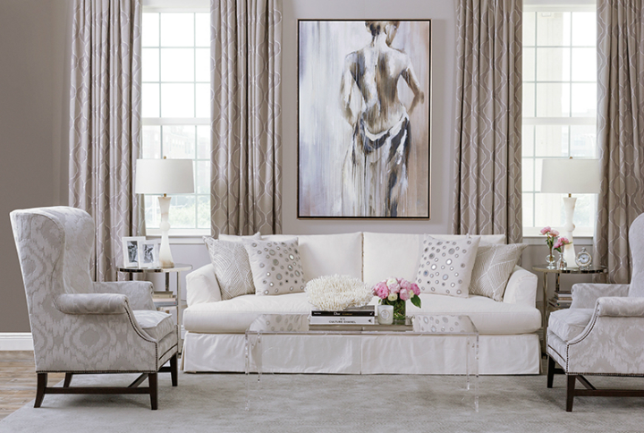 high fashion home beige living room idea