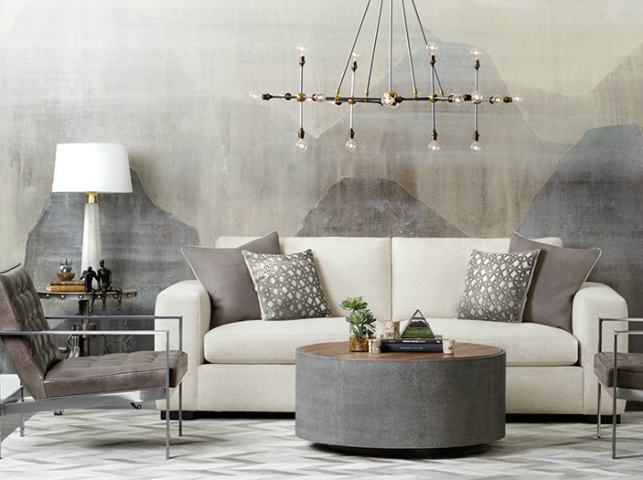 high fashion home gray white living room