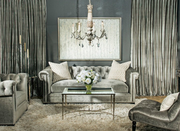 high fashion home gray wall living room idea 58