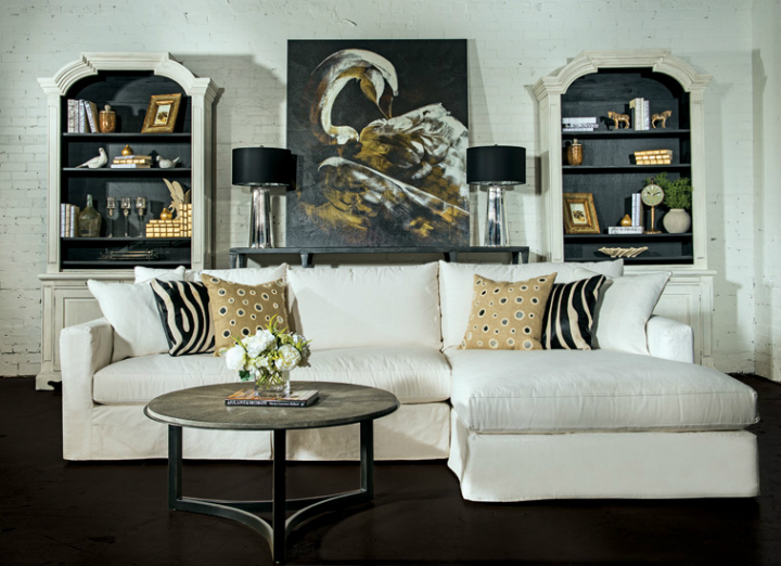 high fashion home gray wall living room idea 59