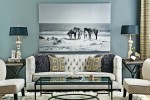 high fashion home gray wall living room idea 65