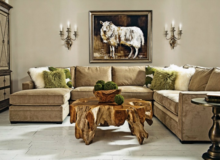 high fashion home gray wall living room idea 66