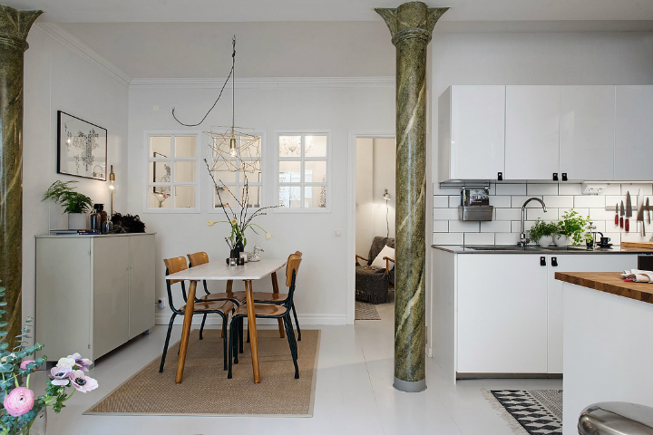 Bringing Beauty to a Scandinavian Apartment Modern, Elegant and Calm 10