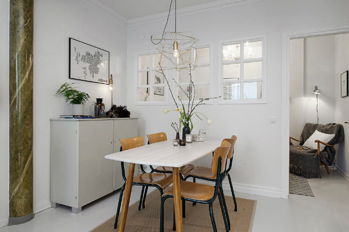 Bringing Beauty to a Scandinavian Apartment Modern, Elegant and Calm 11
