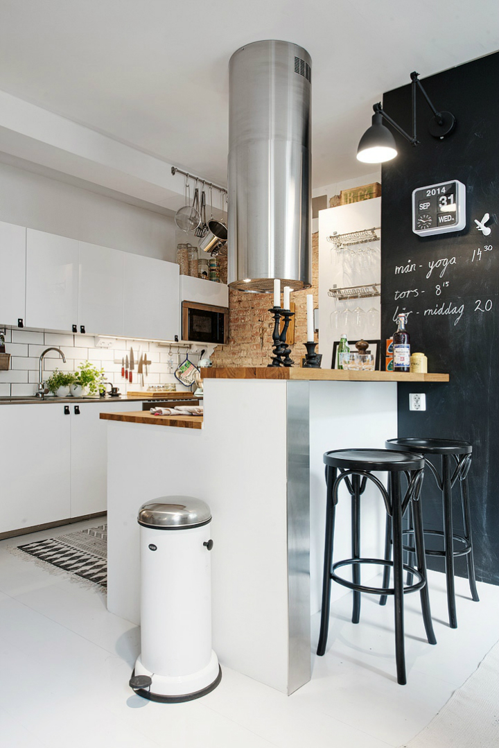Bringing Beauty to a Scandinavian Apartment Modern, Elegant and Calm 2