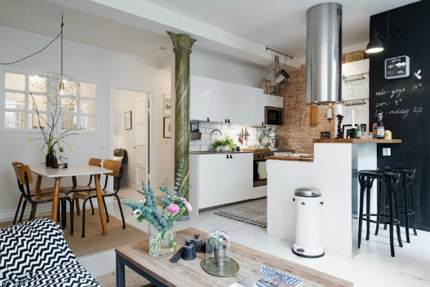 Bringing Beauty to a Scandinavian Apartment Modern, Elegant and Calm