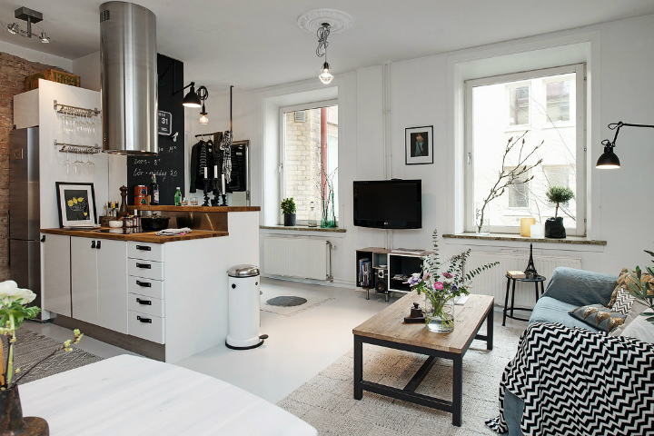 Bringing Beauty to a Scandinavian Apartment Modern, Elegant and Calm 7