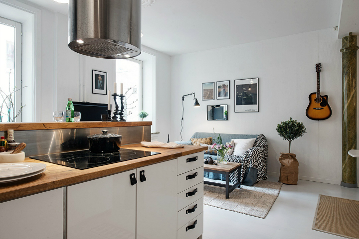 Bringing Beauty to a Scandinavian Apartment Modern, Elegant and Calm 8