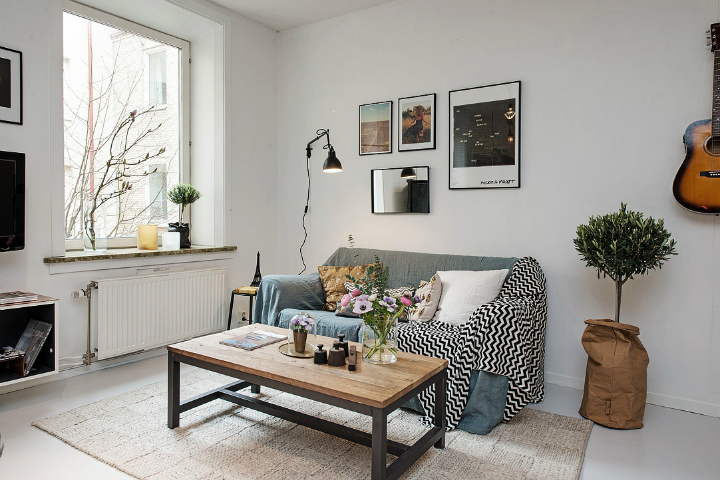 Bringing Beauty to a Scandinavian Apartment Modern, Elegant and Calm 9