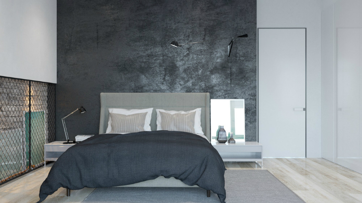 Dramatic Interiors With Dark Walls 11