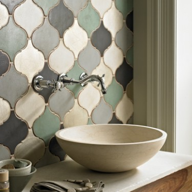bathroom tiles Traditional Arabesque and Mediterranean handmade