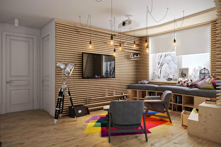 Happy Small Modern Apartment