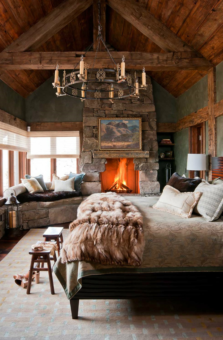 Bedroom Fireplace Design Ideas 2