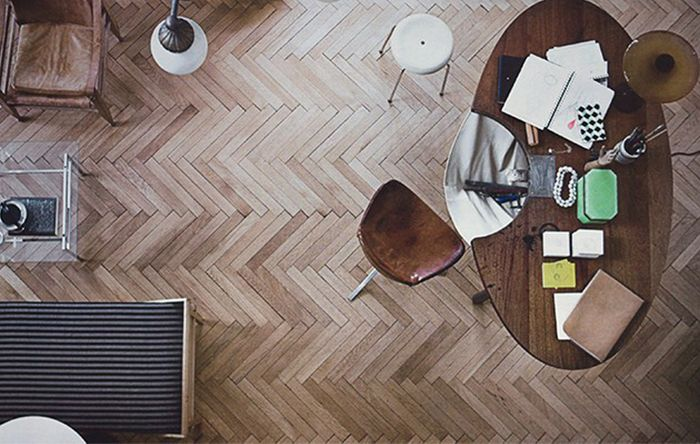 chevron hardwood