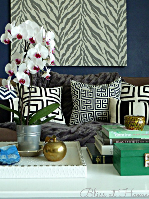coffee table decor styling 910